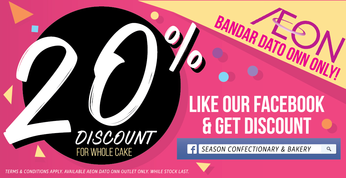 Aeon Bandar Dato Onn outlet have super big offer!